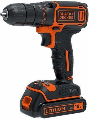 BLACK+DECKER 18 V Cordless Drill