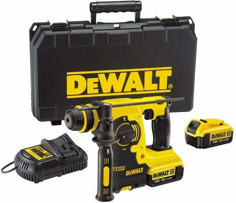 DeWalt 18V XR Lithium-Ion SDS Plus Rotary Hammer Drill