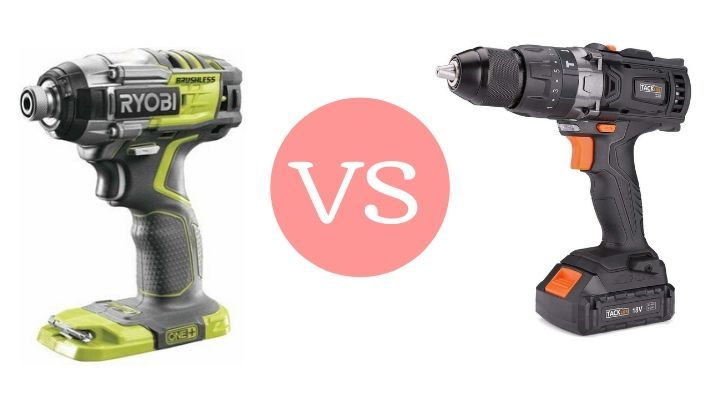 Impact Driver Vs Cordless Drill – What Are The Differences?