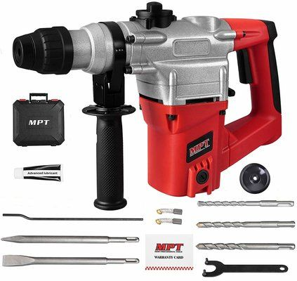 MPT 1 Inch SDS-Plus 1050W Heavy Duty Rotary Hammer Drill
