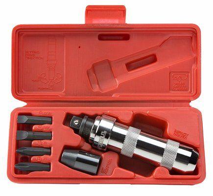 TEKTON 2910 12-Inch Drive Manual Hand Impact Driver Set
