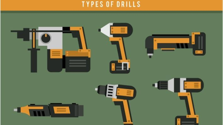 Types Of Drills Driver & Differences