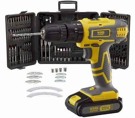 Work Expert Cordless Combi Drill Set