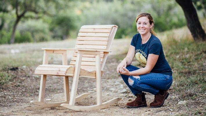 How To Build A Adirondack Rocking Chair