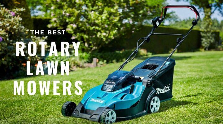 Best rotary lawn mowers UK
