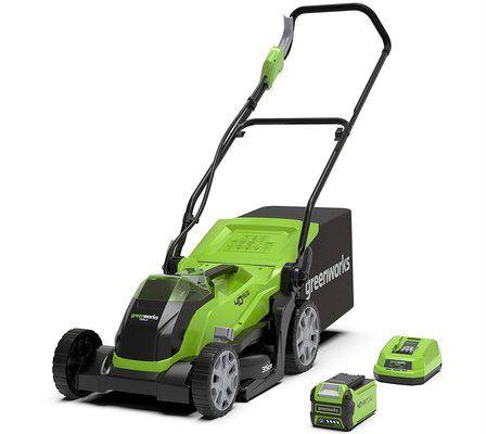 Greenworks G40LM35K2 Cordless Lawn Mower