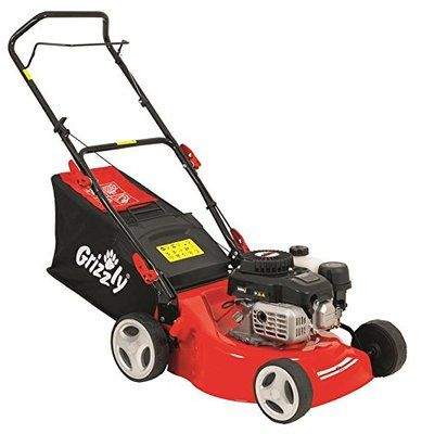 Grizzly petrol lawn mower BRM