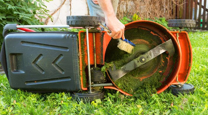 Maintenance Lawn Mower