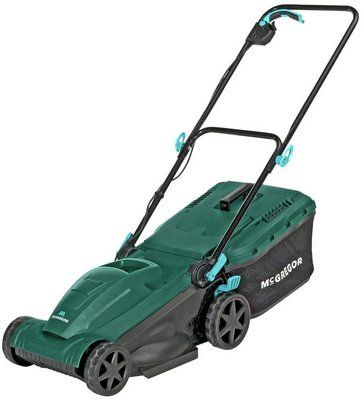 McGregor 37cm Corded Rotary Lawnmower