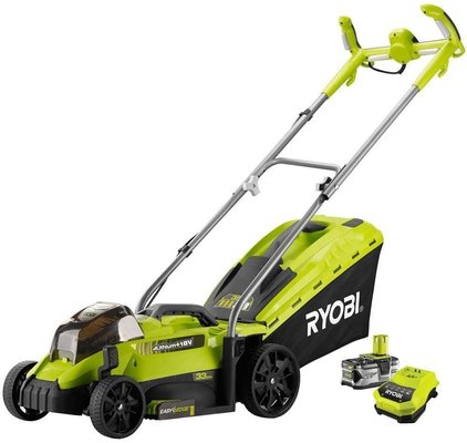 Ryobi RLM18X33H40 One Plus Cordless Lawnmower