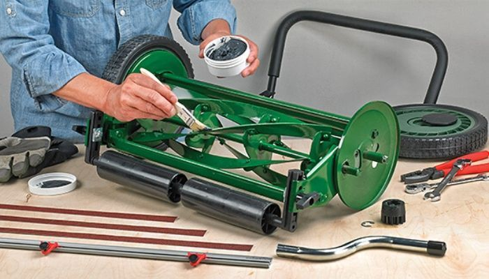 How To Sharpen A Manual Mower Blades?