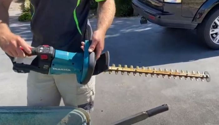 How To Maintain A Hedge Trimmer?