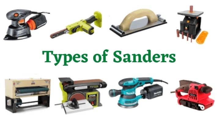 12 Different Types of Sanders In UK & Their Uses