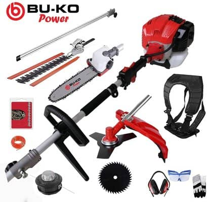 BU-KO 52cc Long Reach Petrol Multi Functional Garden Tool