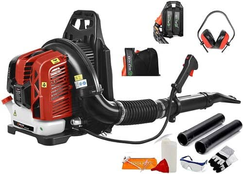 BU-KO 76CC Petrol Backpack Leaf Blower