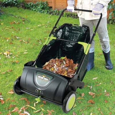 Coopers of Stortford Lawn Leaf Sweeper
