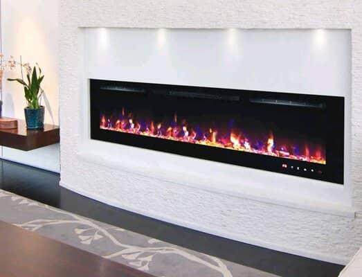 DIGITAL FLAMES Designer Electric Fire