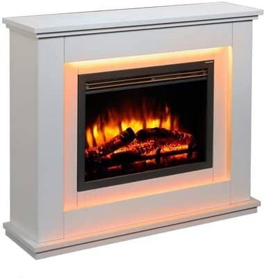 Endeavor Fires Castleton Electric Fireplace Suite