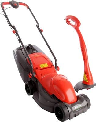 Flymo EASIMO+MINITRIM EasiPack Electric Lawnmower and Grass Trimmer
