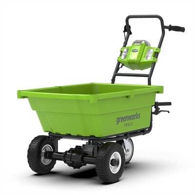 Greenworks Akku wheelbarrow