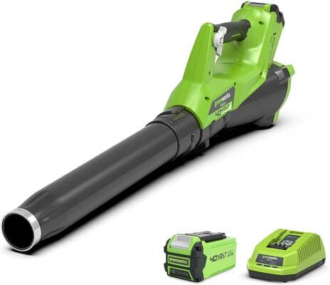 Greenworks Tools 40 V Axial Cordless Leaf Blower