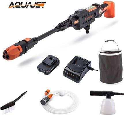 Yard Force 22Bar 20V Aquajet Cordless Pressure Cleaner