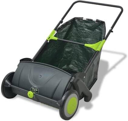vidaXL Outdoor Garden Power Lawn Sweeper