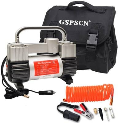 GSPSCN Silver Tyre Inflator