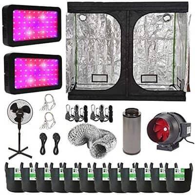 Hydroponic 600w LED Grow Tent Kit