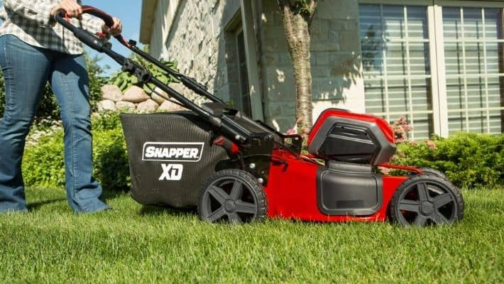 Can you Pull a Self Propelled Lawn Mower Backwards?