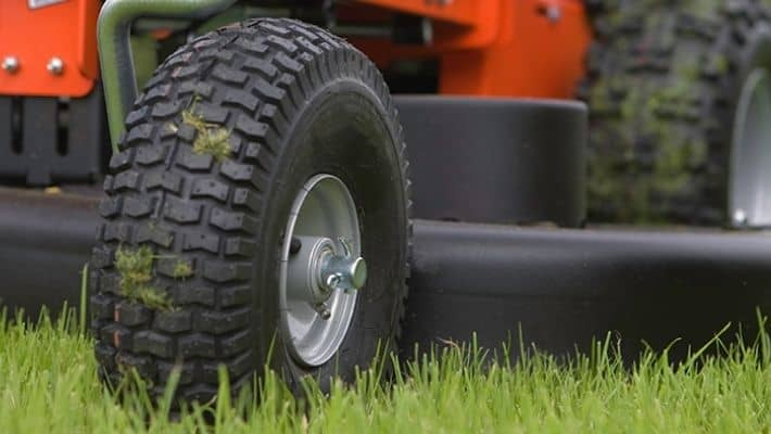Replacing Lawn Mower Tire