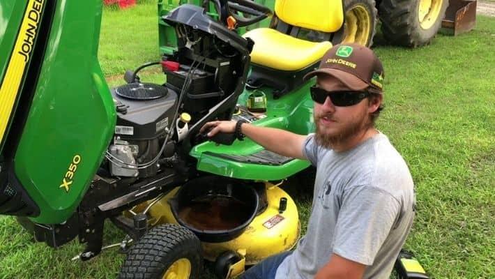 John Deere Lawn Mower Engines
