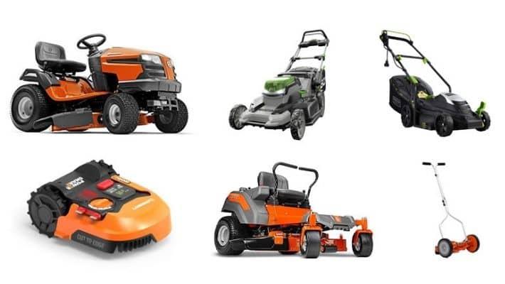 Lawnmower Types
