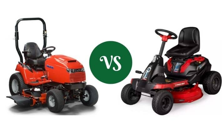 Riding Mower Vs Lawn Tractor Vs Garden Tractor- The Differences